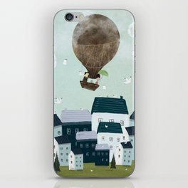 with the birds iPhone Skin
