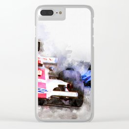 Rolf Stommelen Clear iPhone Case