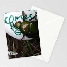 The Beetle. [INSECTS] [GREEN BEETLE] [INSECT] [BEETLE] Stationery Cards