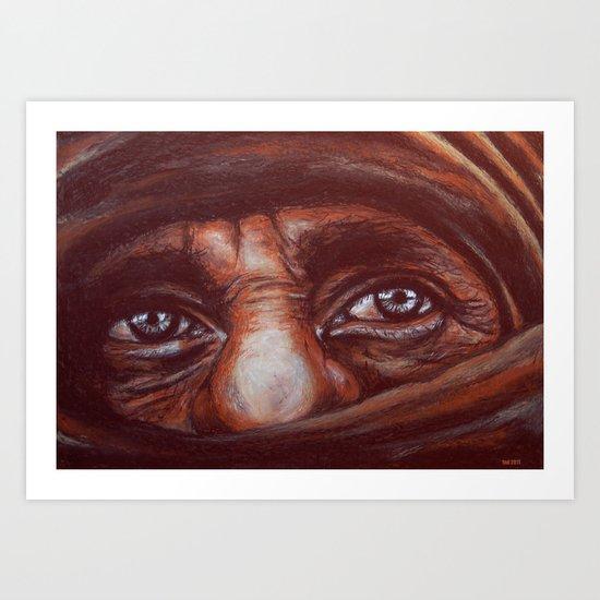 mudzahedin part 2 Art Print