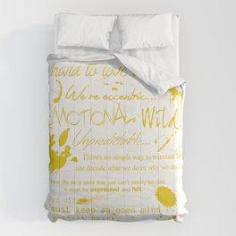 An Artist... Comforters