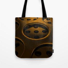 Circular speaker grille Tote Bag