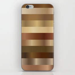 Wood Gradient Pattern iPhone Skin