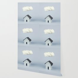 A cloud over the house Wallpaper