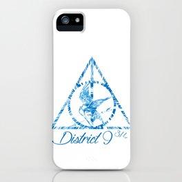 District 9 3/4 iPhone Case