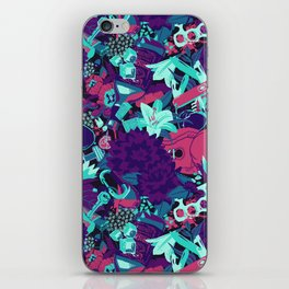 Black Dahlia (Bruise Variant) iPhone Skin