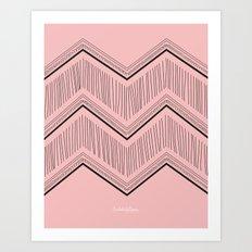 LETITSNOW2 Art Print