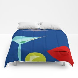Cocktail Martini Comforters