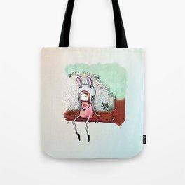 The Bunny Girl Tote Bag