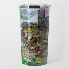 Up - Carl's House Cross-Section Travel Mug
