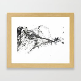Journey through the Gorges Framed Art Print