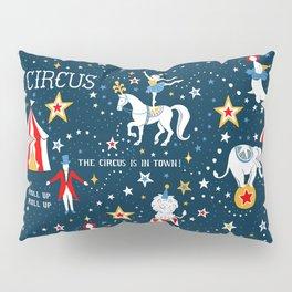 Retro Circus Pillow Sham