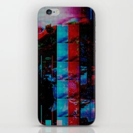 Face of a thousand Voices iPhone Skin