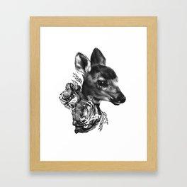Fawn & Flora I Framed Art Print