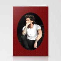 zayn Stationery Cards featuring Zayn  by clevernessofyou
