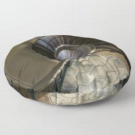 Circles and spirals Floor Pillow