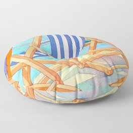 Beach Chairs 1 Floor Pillow