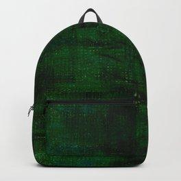 Deep green paths Backpack
