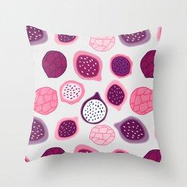 Dragon Fruit Pattern Throw Pillow
