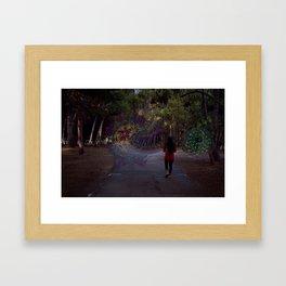 Choosing a Portal Framed Art Print