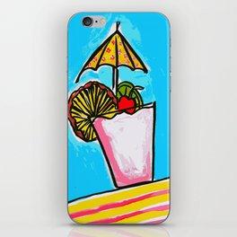 Miami Vice - Tropical Drink - Beach Cocktail - daiquiri iPhone Skin