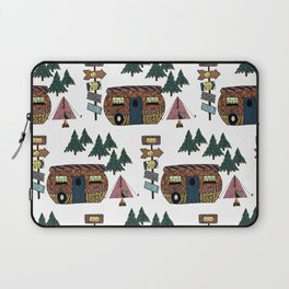 Camping we go Laptop Sleeve