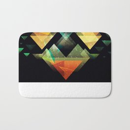 The Triangle collection  Bath Mat