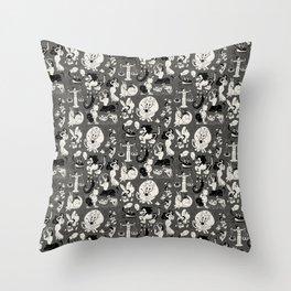 Zodiac Toons Throw Pillow