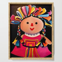 MEXICAN MARIA DOLL*** Serving Tray