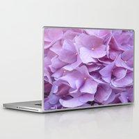 hydrangea Laptop & iPad Skins featuring Hydrangea by lillianhibiscus