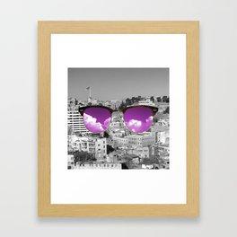 iCity Framed Art Print