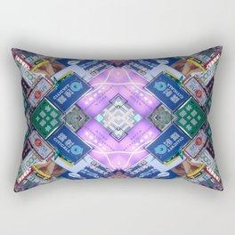Hong Kong Kaleidoscope 03 Rectangular Pillow