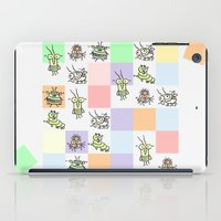 bugs iPad Cases featuring Bugs by Scribblebro
