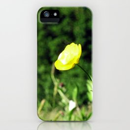 wild Butter cup iPhone Case