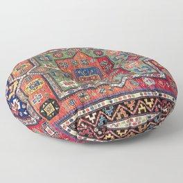 Kuba Sumakh East Caucasus Antique Rug Print Floor Pillow