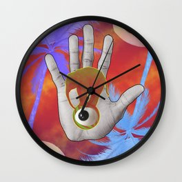 Elephant Heals All Wall Clock