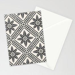 TAZA STAR TILE GREY Stationery Cards