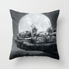 Echoes of a Lullaby Throw Pillow