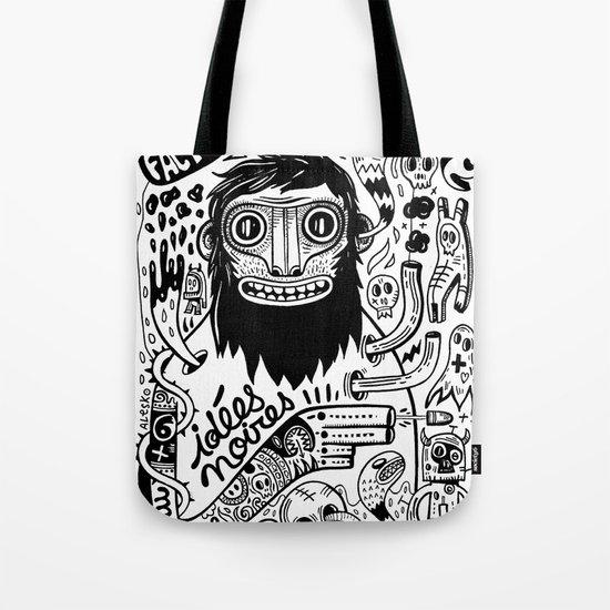 Idées noires Tote Bag