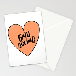 Girl Squad Stationery Cards