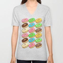 I donut care! Unisex V-Neck