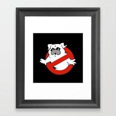 Pugbusters Framed Art Print