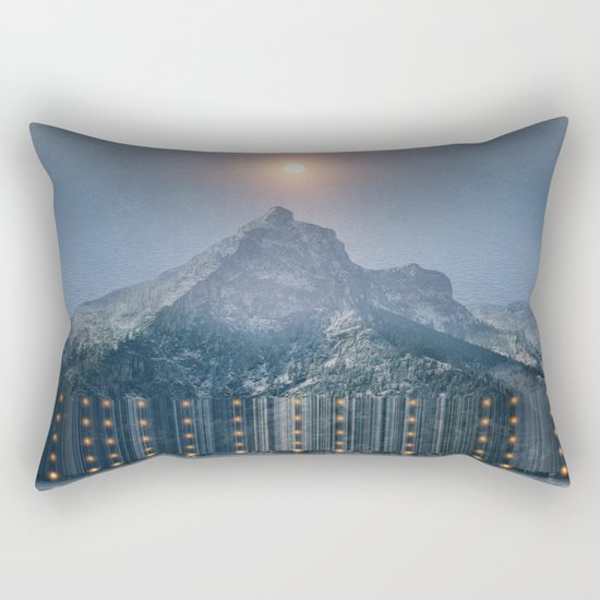 Chasing Lights Rectangular Pillow