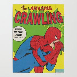 The Amazing Crawling Poster