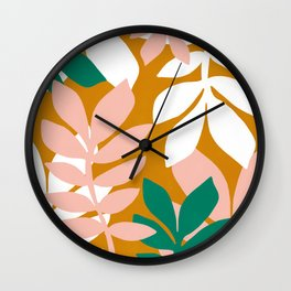 palm springs getaway Wall Clock