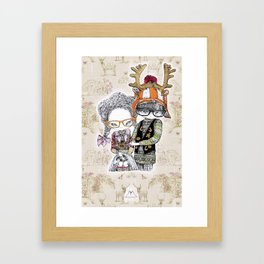 Hansel & Gretel by Carine-M Framed Art Print