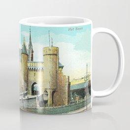 Antwerpen Antwerp Steen medieval castle Coffee Mug