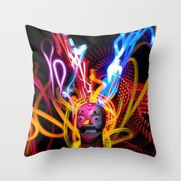 Dead Head Inspiration II Throw Pillow