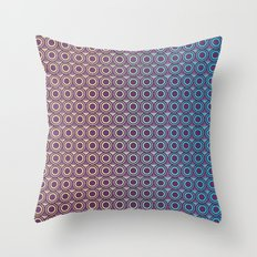 Purple Skin Throw Pillow