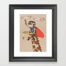 Luca the Little Prince Framed Art Print